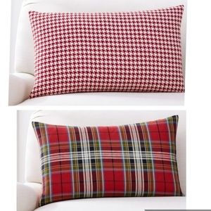 Pottery Barn Houndstooth Reversible Pillow Cover